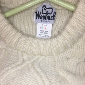 Woolrich Fisherman Knit Sweater